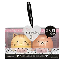 Buy NPW Oh K Cat Duo Lip Balm Online at johnlewis.com
