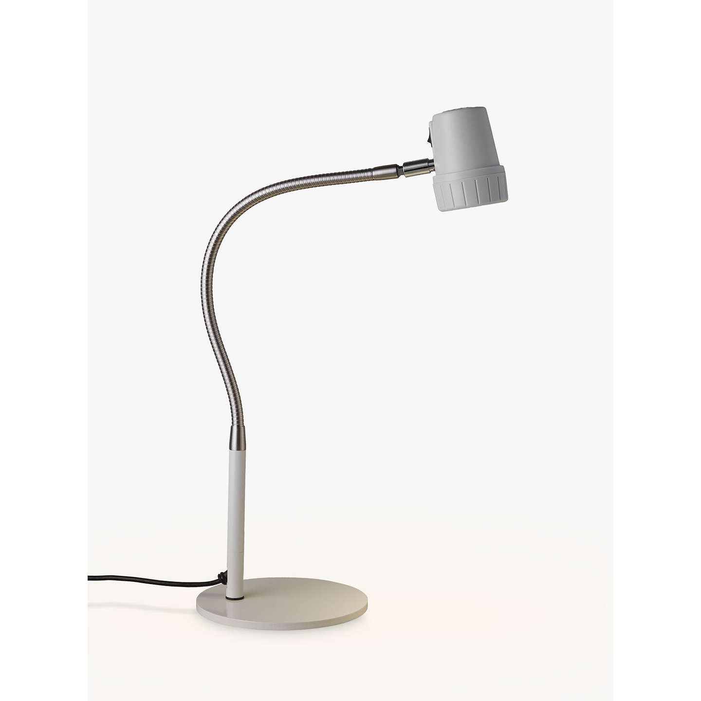 Serious Readers Alex Led Desk Lamp White Nickel At Johnlewis Com