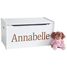 Buy My 1st Years Personalised Wooden Toy Chest Online at johnlewis.com