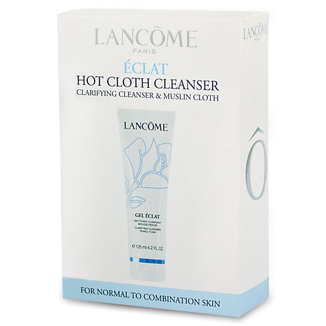 Buy Lancôme Hot Cloth Cleanser Gel Éclat Kit Online at johnlewis.com