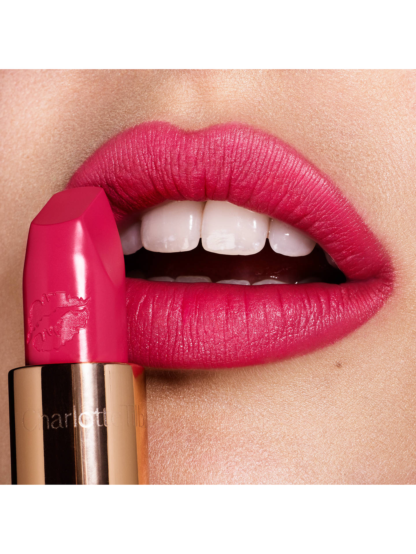 Buy Charlotte Tilbury Hot Lips, Electric Poppy Online at johnlewis.com