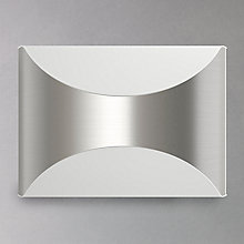 Buy Philips Herb LED Outdoor Wall Light, Chrome Online at johnlewis.com