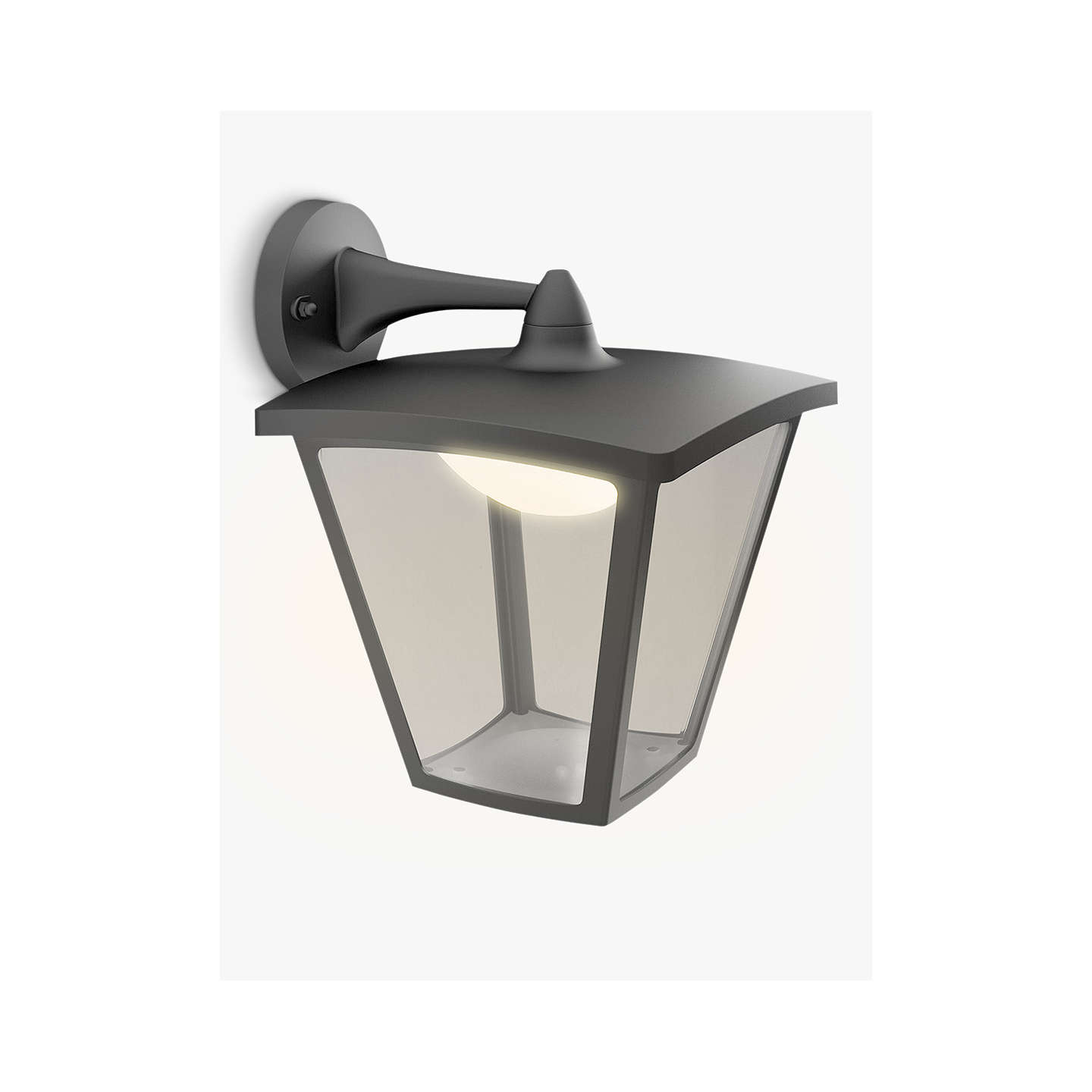 John Lewis Hector Outdoor Wall Light: Philips MyGarden LED Outdoor Cottage Lantern Wall Light