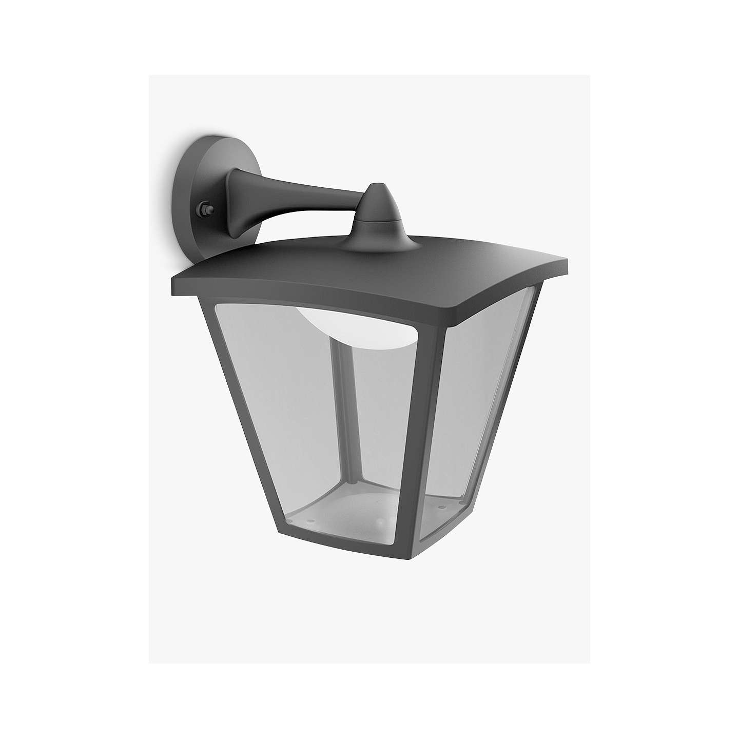 Porch Light John Lewis: Philips MyGarden LED Outdoor Cottage Lantern Wall Light