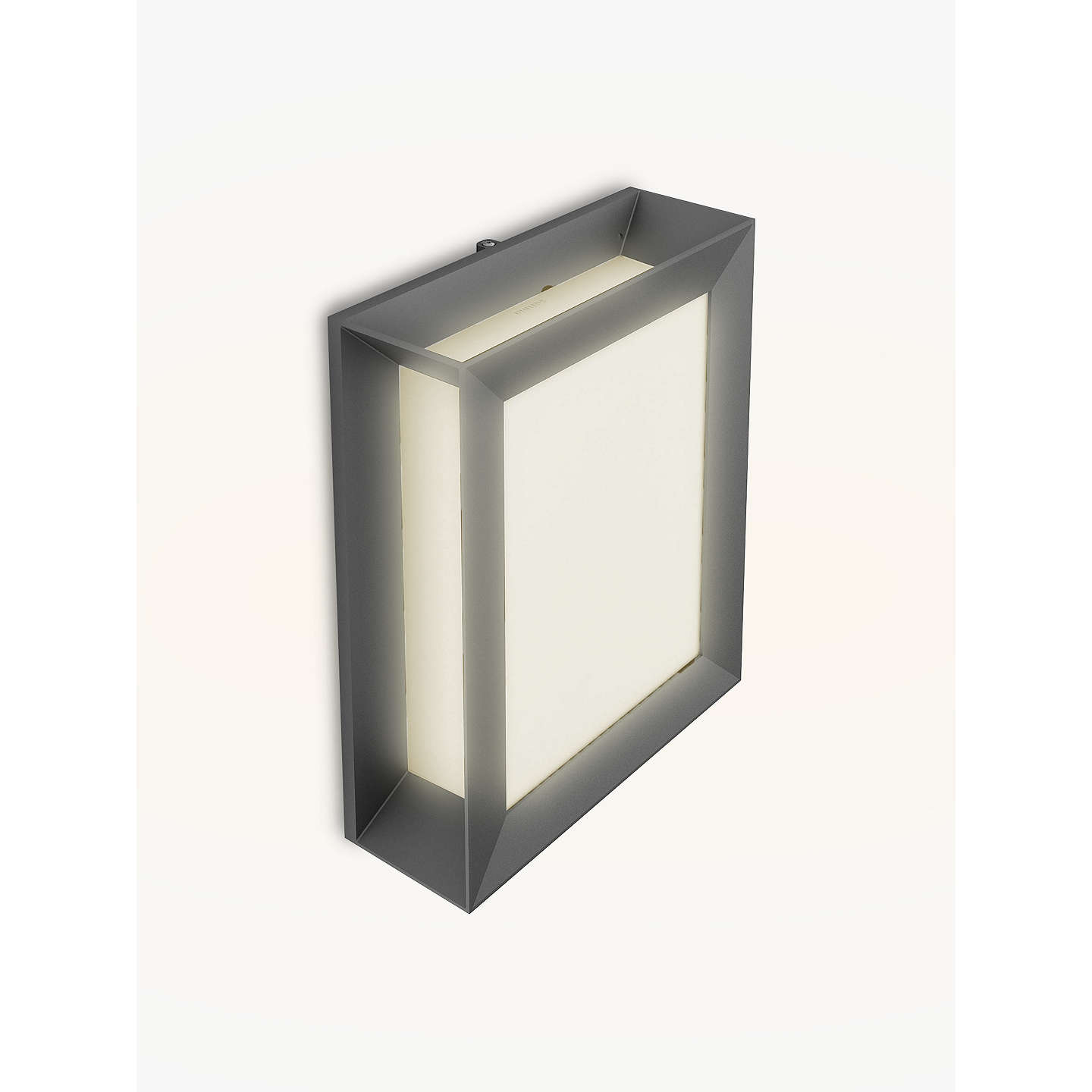 Philips Led Outdoor Lighting Philips karp led outdoor wall light anthracite at john lewis buyphilips karp led outdoor wall light anthracite online at johnlewis workwithnaturefo