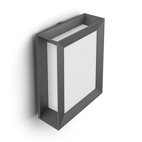 Buy Philips Karp LED Outdoor Wall Light, Anthracite