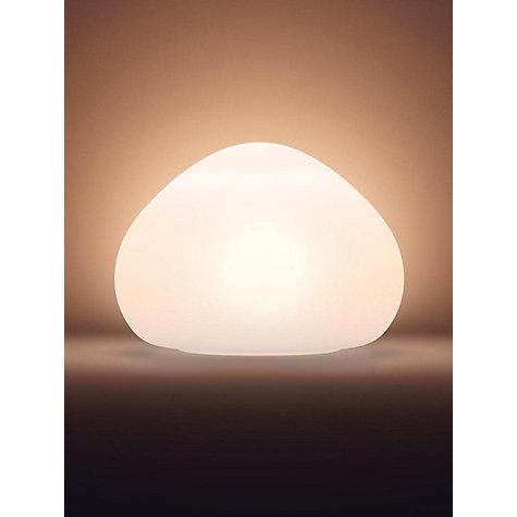 Buy Philips Hue Ambient Wellner Table Lamp White John Lewis