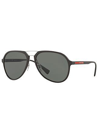 c6b787722fcb Prada Linea Rossa PS 05RS Polarised Aviator Sunglasses