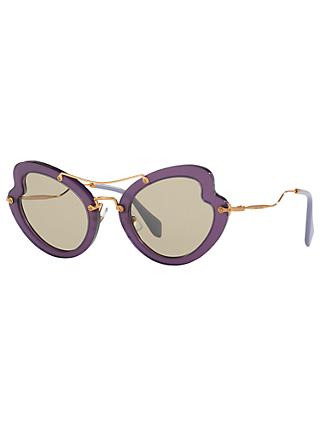 Miu Miu MU11RS Cat's Eye Sunglasses