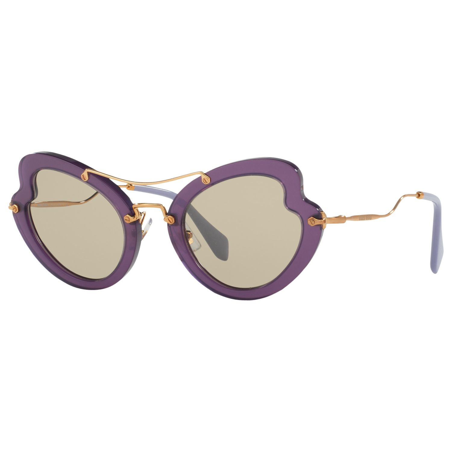 Miu Miu Miu Miu MU11RS Cat's Eye Sunglasses