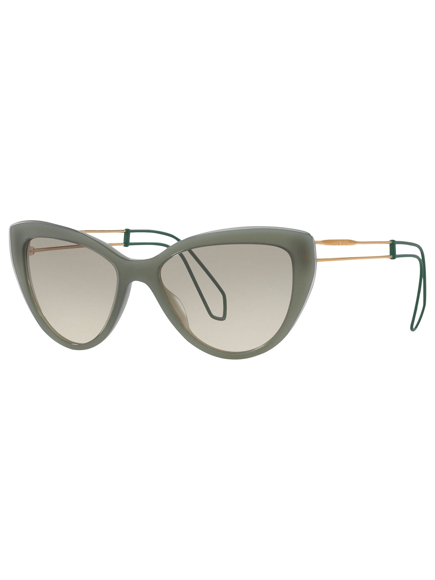 68c3d9d3c735 Buy Miu Miu MU 12RS Cat s Eye Sunglasses