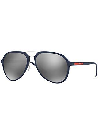 edce2923c7 Prada Linea Rossa PR05RS Round Framed Sunglasses