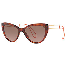 Buy Miu Miu MU 12RS Cat's Eye Sunglasses Online at johnlewis.com