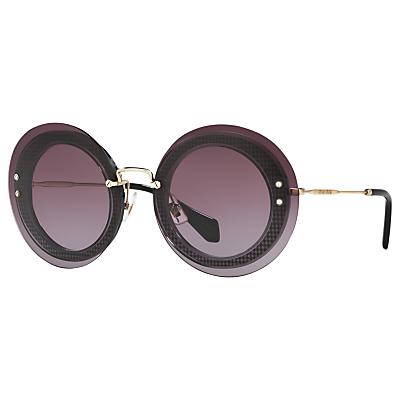 Miu Miu MU10RS Round Sunglasses