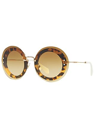 Miu Miu MU10RS Round Sunglasses