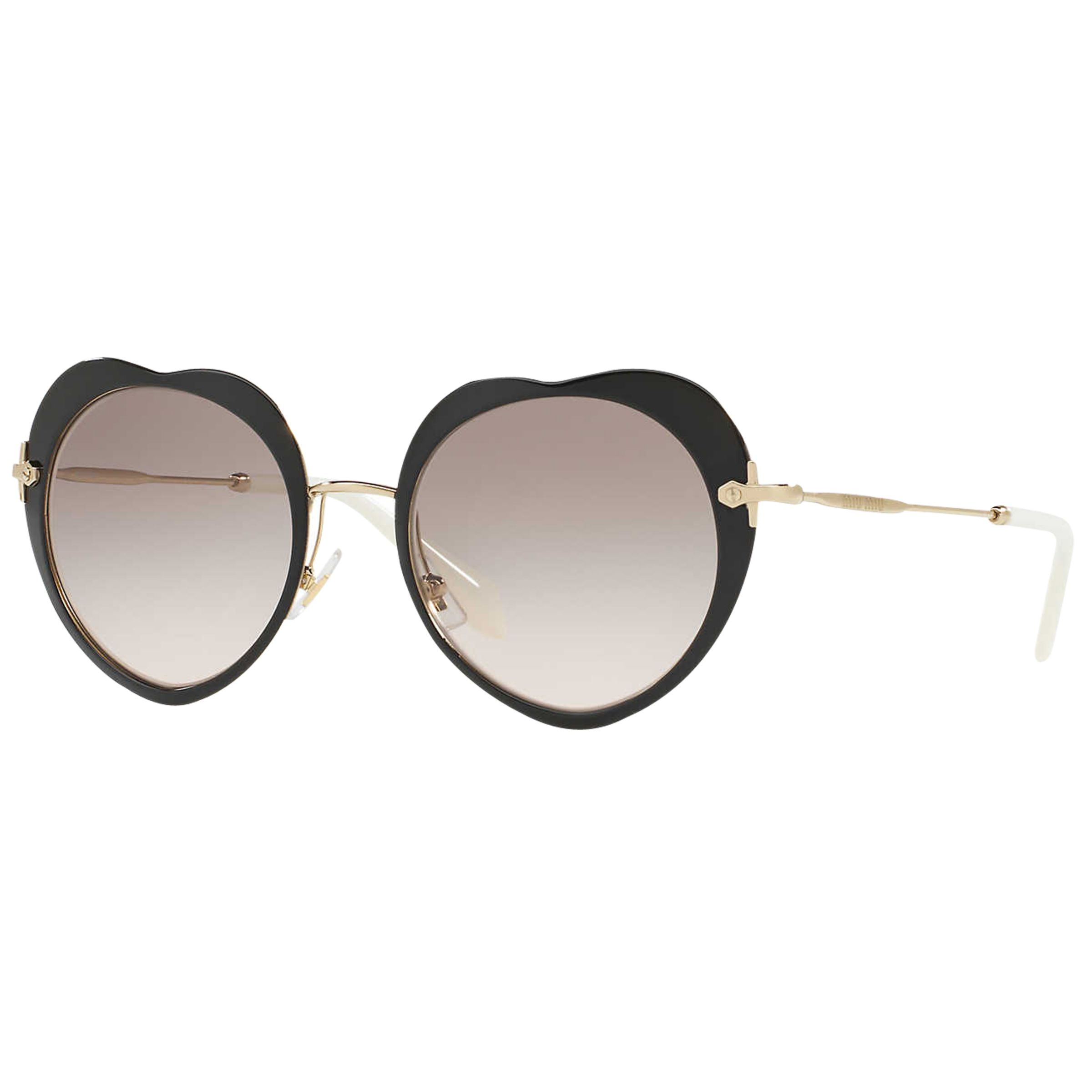 Miu Miu Miu Miu MU 54RS Oval Sunglasses