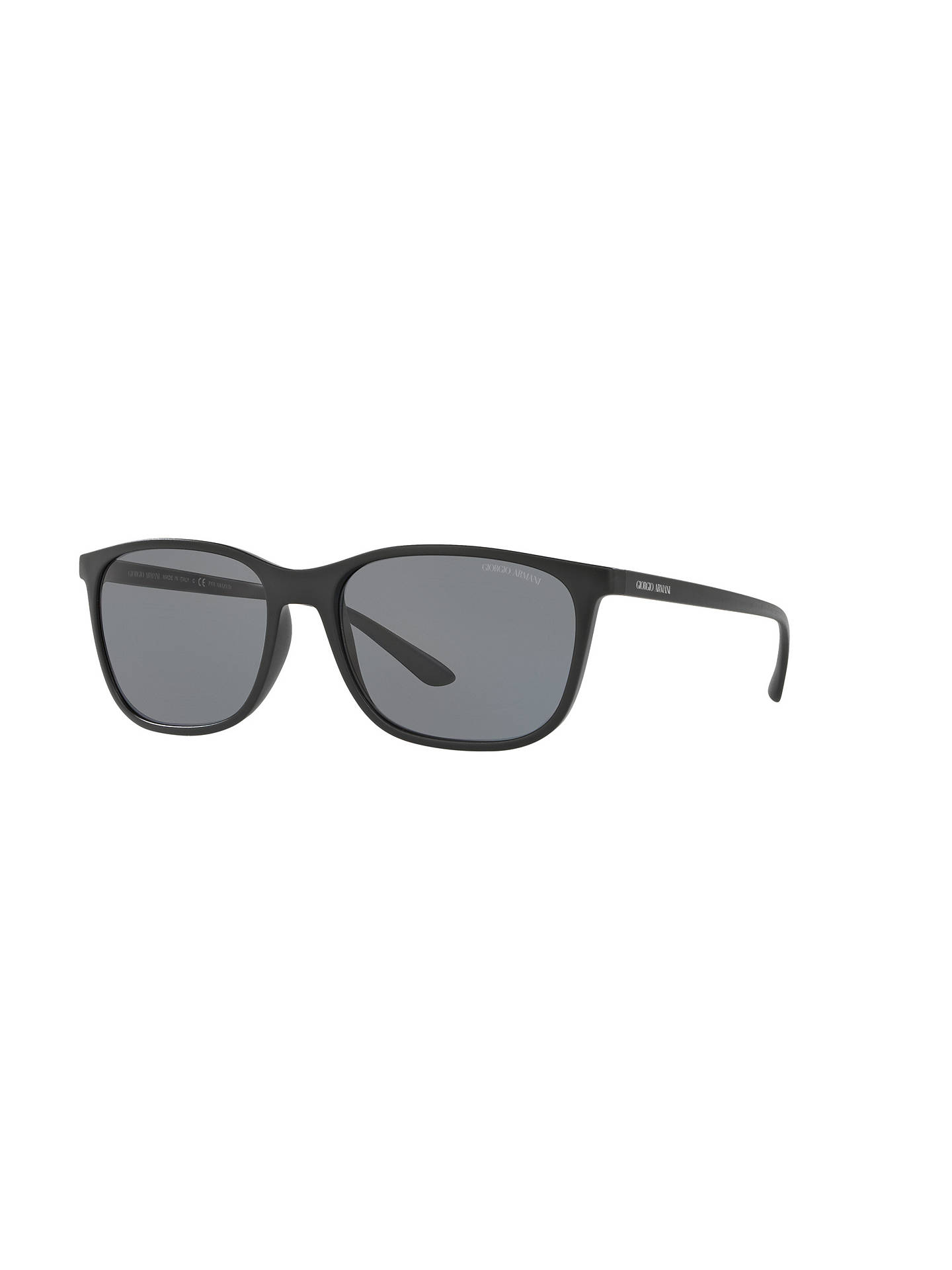 c929bbe10f55 Giorgio Armani AR8084 Polarised Square Sunglasses at John Lewis ...