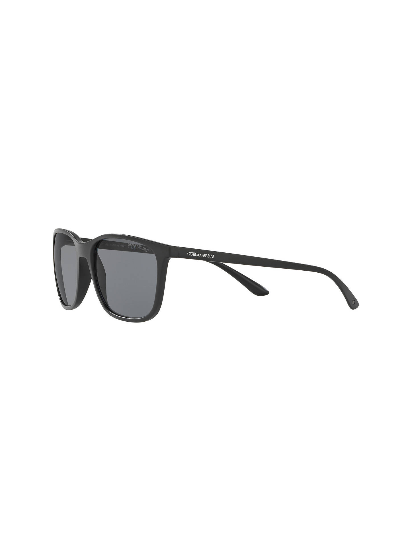 3ec761f1b6c Giorgio Armani AR8084 Polarised Square Sunglasses at John Lewis ...