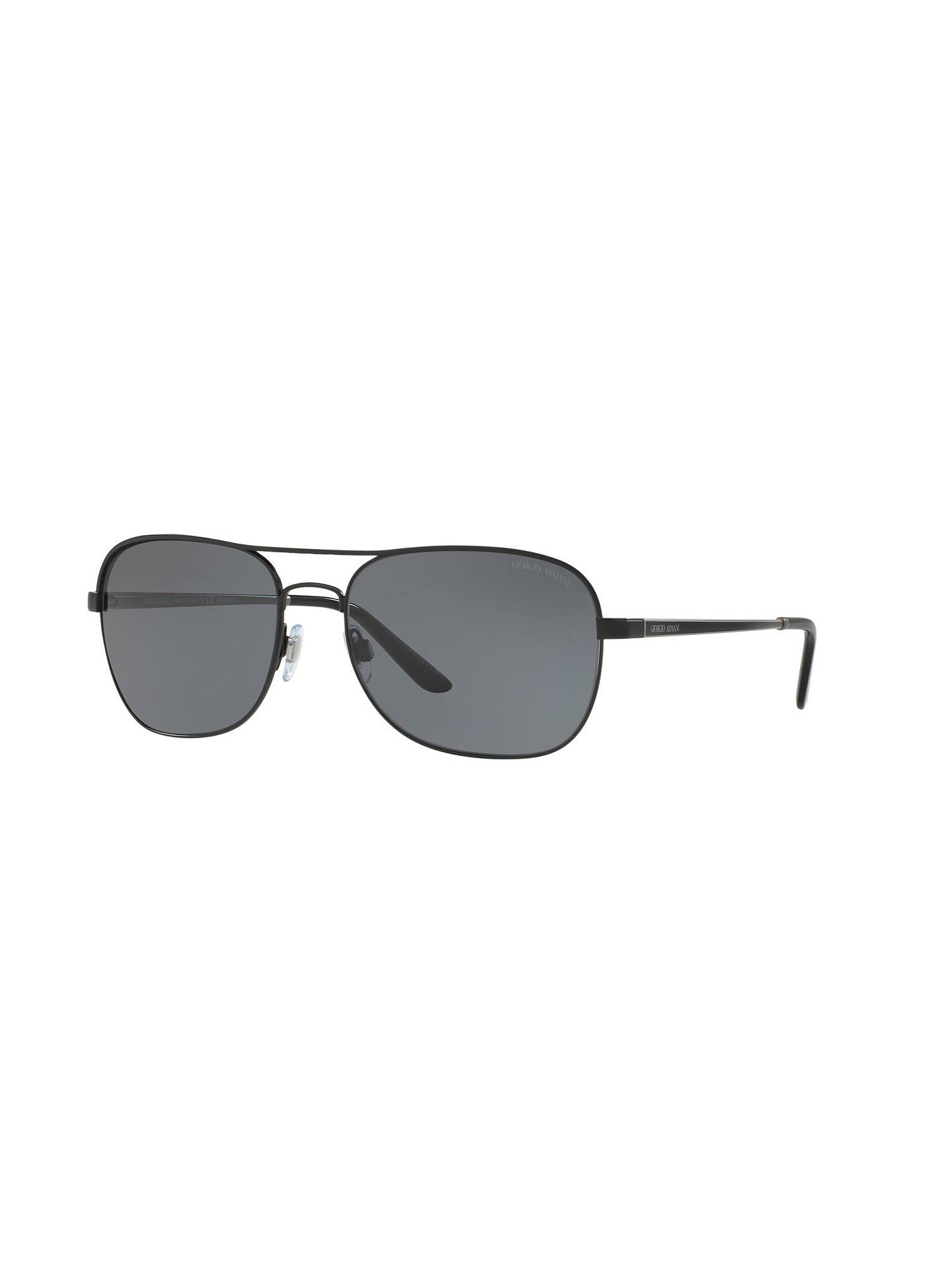 d0688c541bc Buy Giorgio Armani AR6040 Polarised Square Sunglasses
