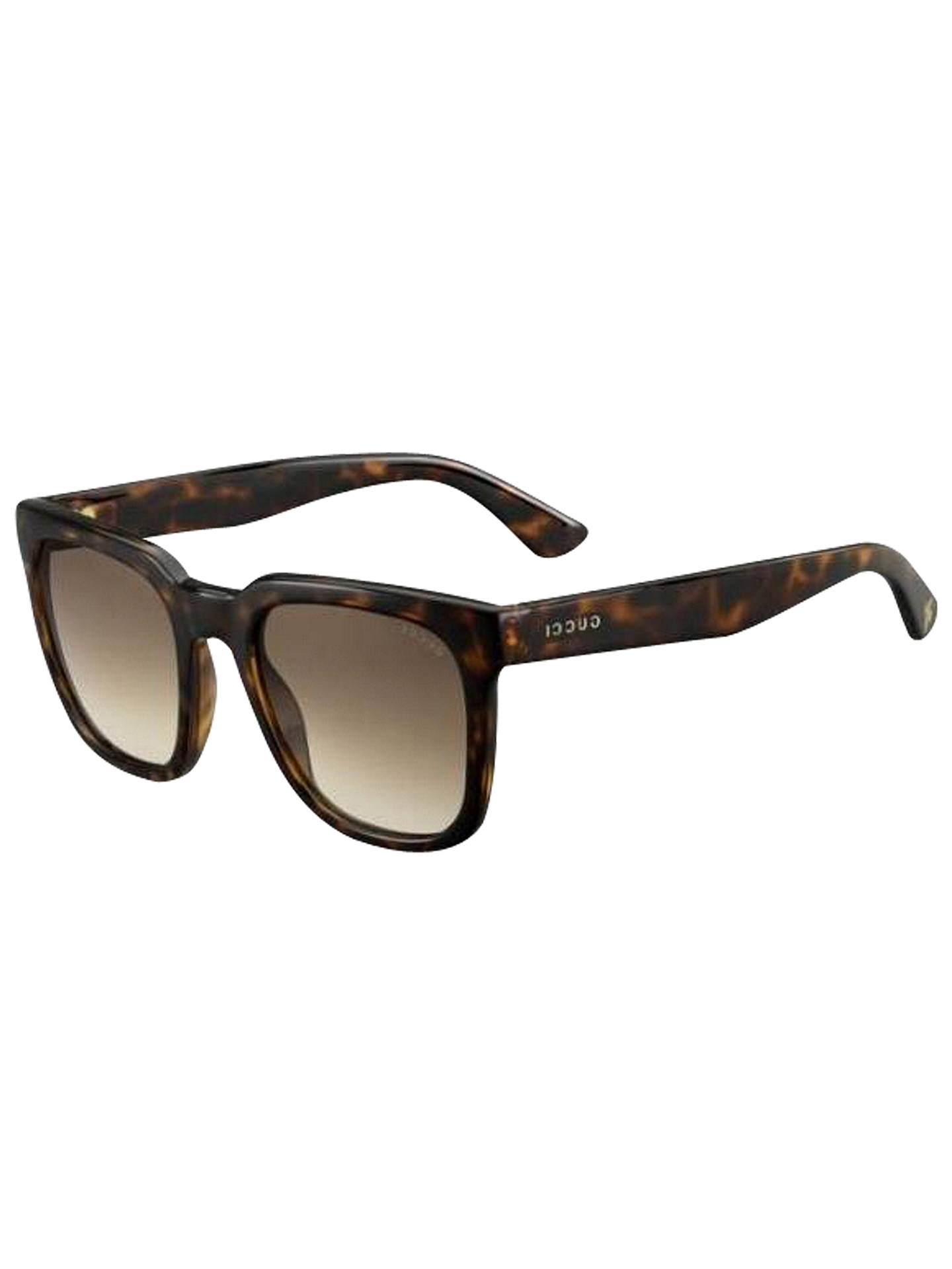 db72a16665600 Gucci GG 1133 S Square Sunglasses at John Lewis   Partners