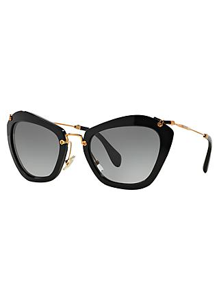 Miu Miu MU10NS Cat's Eye Sunglasses