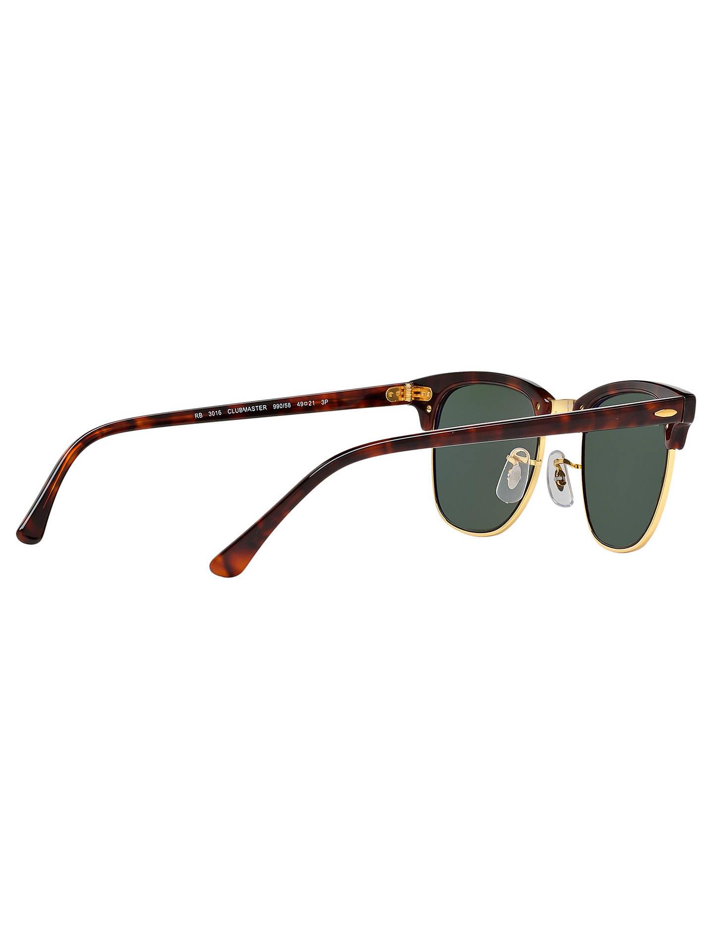 892604682c5 Ray-Ban RB3016 Men s Polarised Clubmaster Sunglasses at John Lewis ...