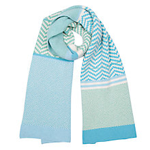Buy Green Thomas Chevron Scarf Online at johnlewis.com