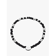 Buy Under the Rose Morse Code 'Daddy' Bead Bracelet Online at johnlewis.com