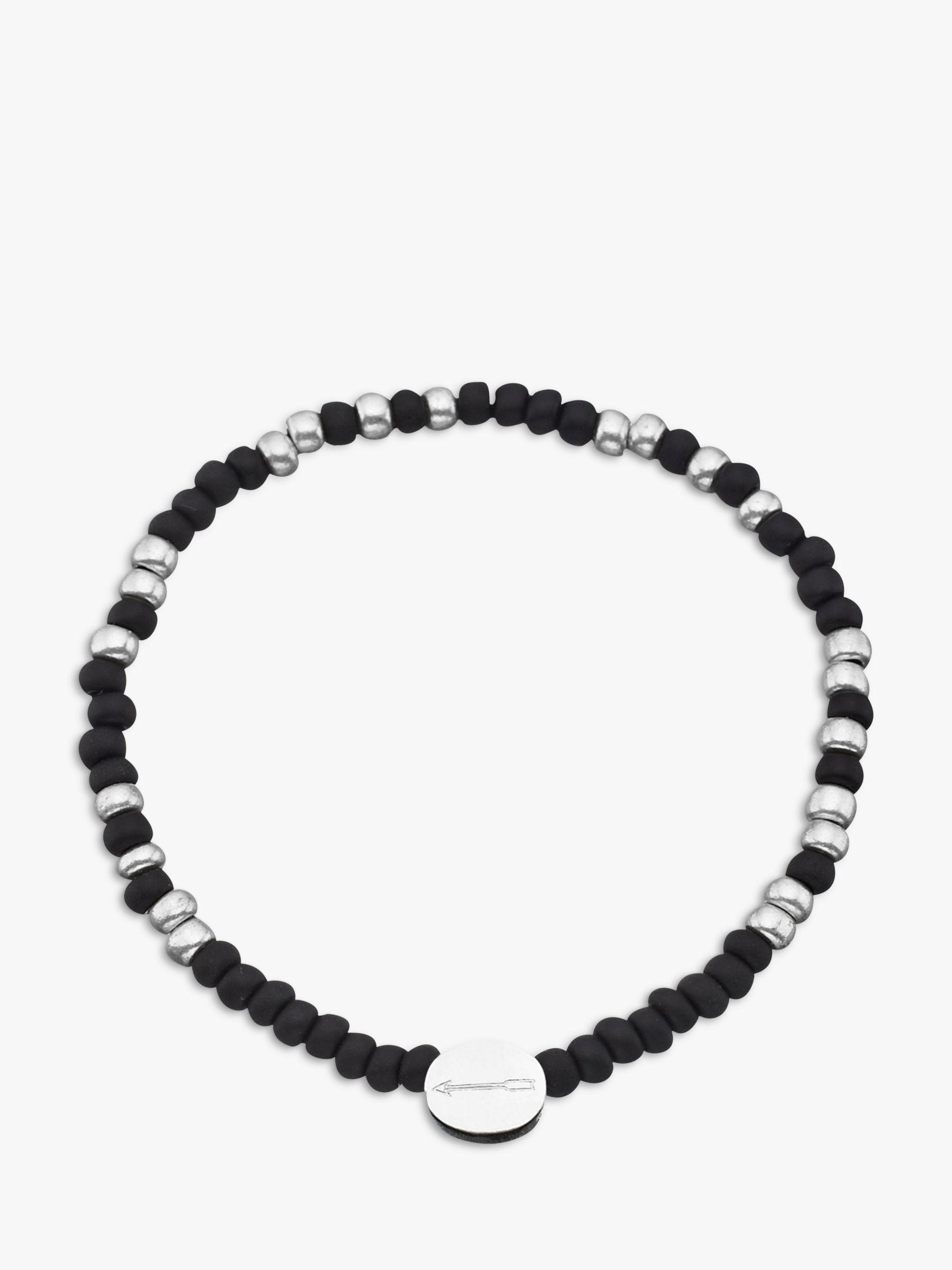 Under The Rose Under the Rose Morse Code 'Daddy' Bead Bracelet