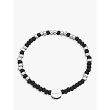 Buy Under the Rose Morse Code '21st' Bead Bracelet Online at johnlewis.com