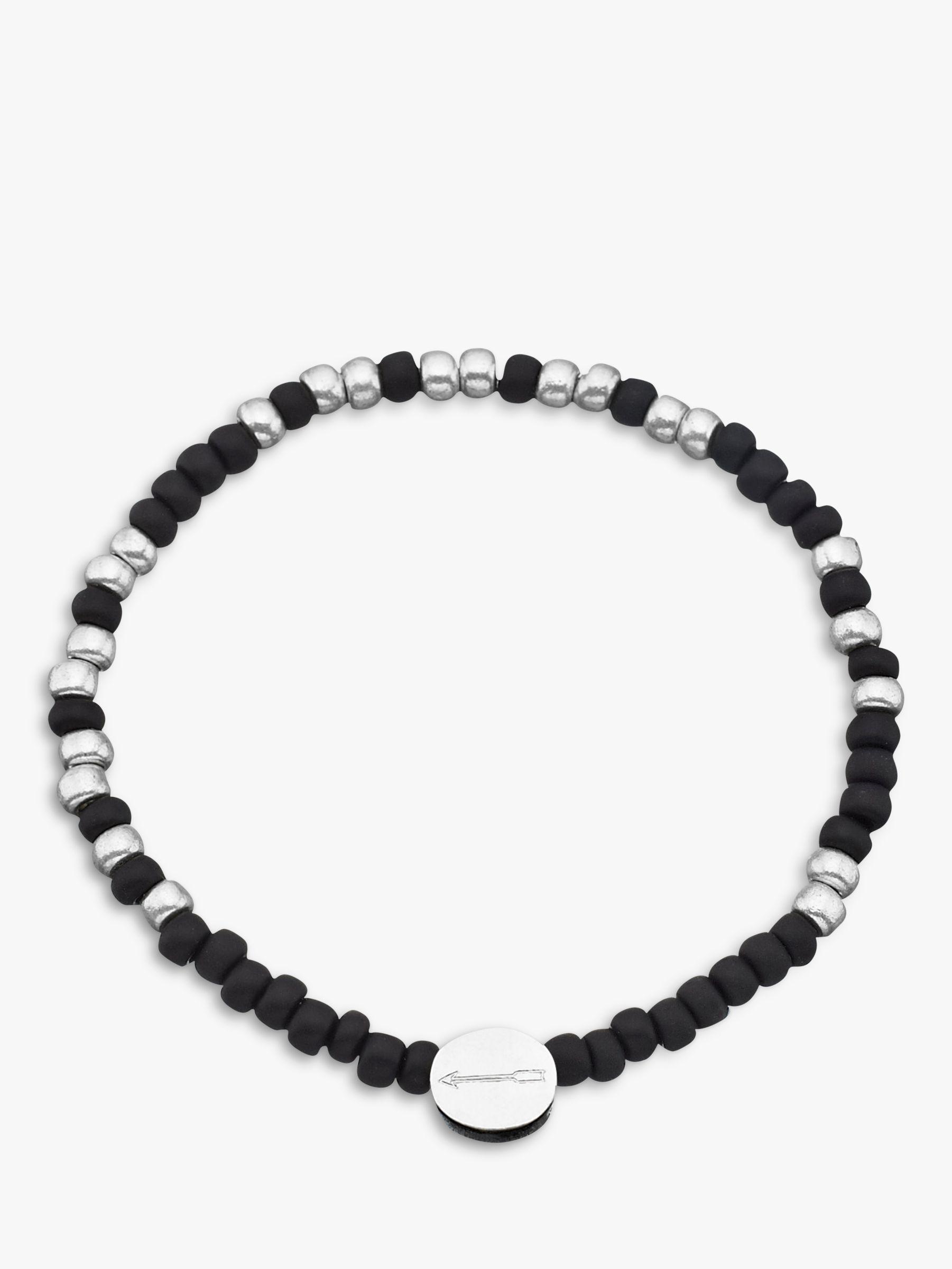 Under The Rose Under the Rose Morse Code '21st' Bead Bracelet