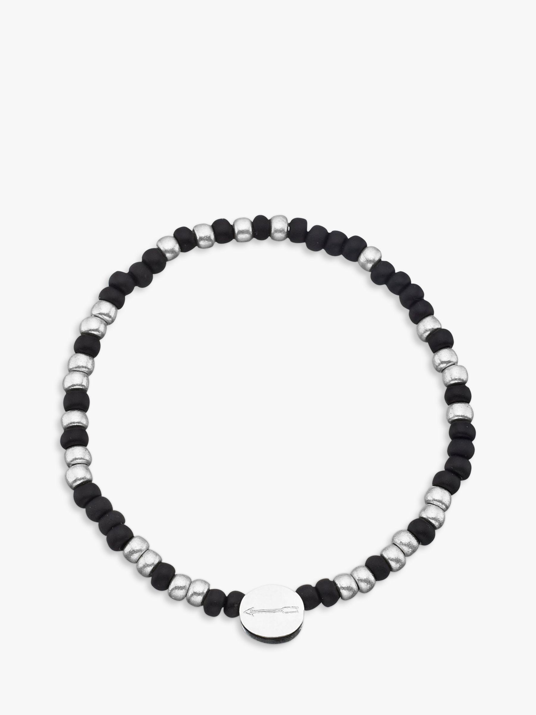 Under The Rose Under the Rose Morse Code 'My Hero' Bead Bracelet