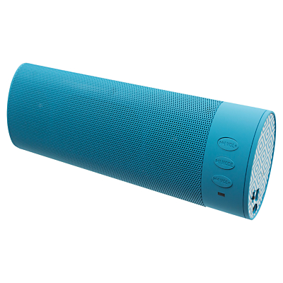 KitSound Boombar Bluetooth Portable Speaker with Built-In Mic