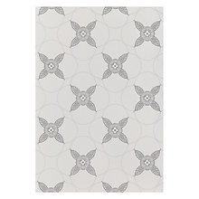Buy Genevieve Bennett for John Lewis Deco Flower Wallpaper, Buff Online at johnlewis.com