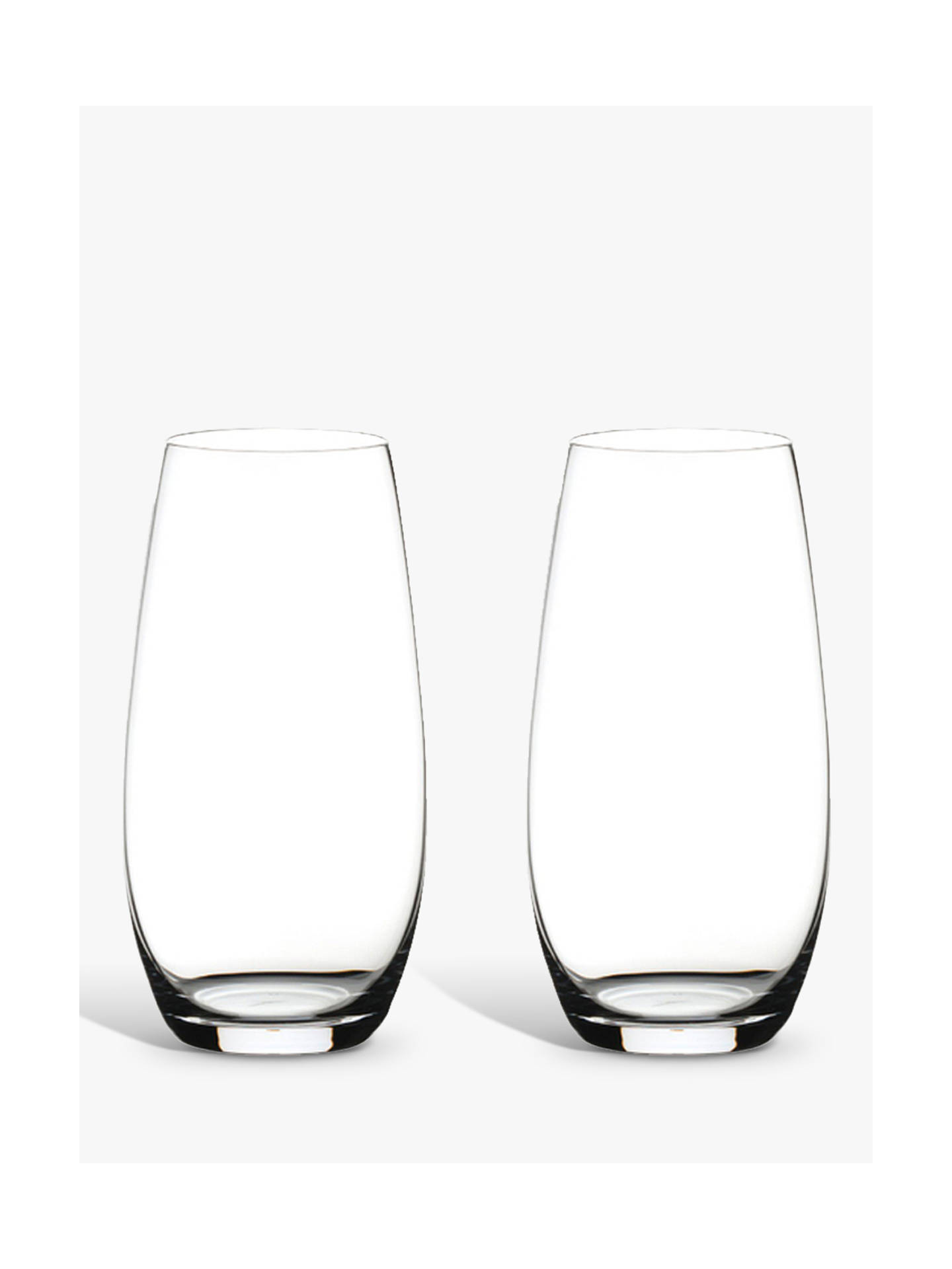 Buy Riedel 'O' Champagne Glass, Set of 2, 264ml, Clear Online at johnlewis.com