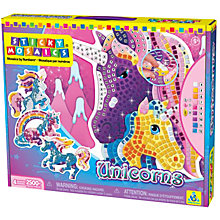 Buy Sticky Mosaics Unicorn Craft Kit Online at johnlewis.com