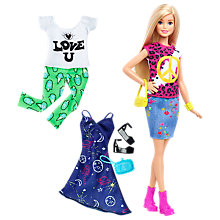 Buy Barbie Fashionistas Peace and Love Doll Online at johnlewis.com