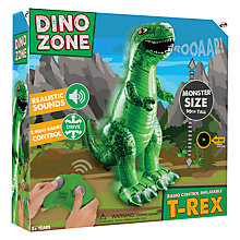 Buy Dino Zone Remote Control Inflatable T-Rex Online at johnlewis.com