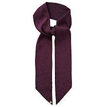 Buy Ted Baker Melanee Hot Fix Stone Skinny Scarf Online at johnlewis.com