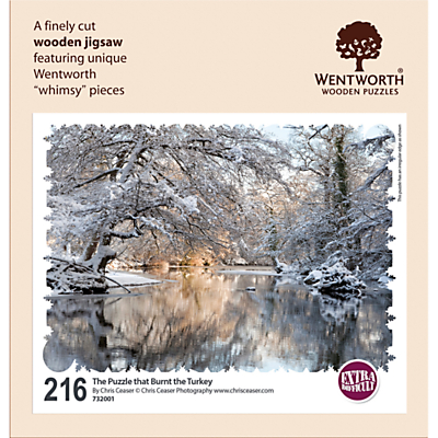 Image of Wentworth Wooden Puzzles Winter Scene Jigsaw Puzzle, 250 pieces