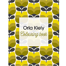 Buy Orla Kiely Colouring Book Online at johnlewis.com