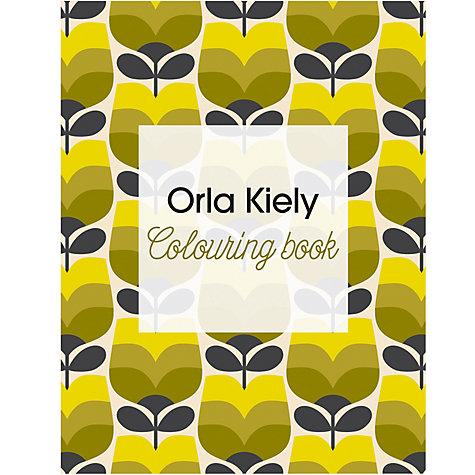 buy orla kiely colouring book john lewis