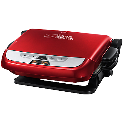 George Foreman N21611 Evolve Grill, Red