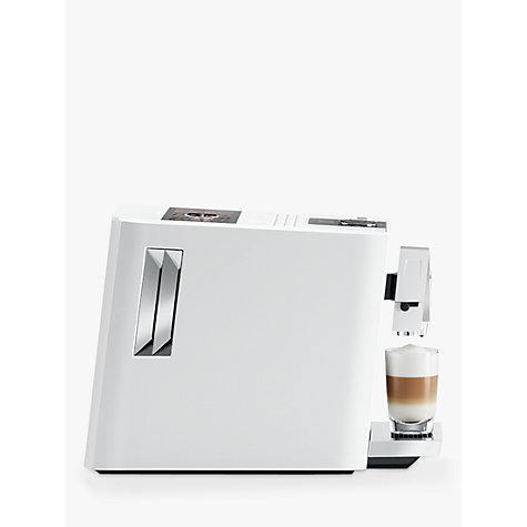 buy jura a7 bean to cup automatic coffee machine piano white john lewis. Black Bedroom Furniture Sets. Home Design Ideas