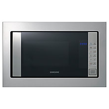 Buy Samsung FG87SUST/XEU Integrated Microwave Grill, Stainless Steel Online at johnlewis.com