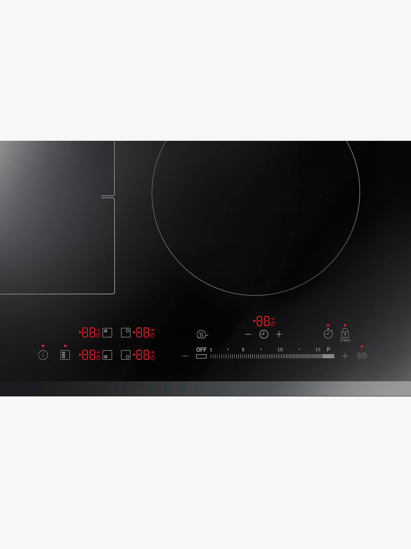 BuySamsung NZ64K7757BK/EU Induction Hob, Black Online at johnlewis.com