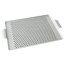 Buy Kaymet Rubber Grip Tray, Silver Online at johnlewis.com