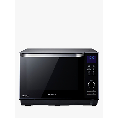 Image of Panasonic NN-DS596BBP Freestanding 4-in-1 Steam Combination Microwave Oven with Grill, Black