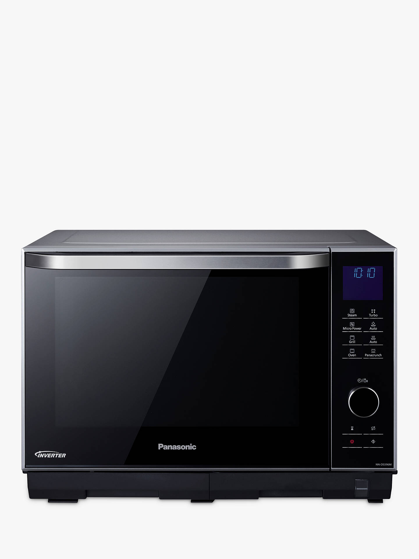 Panasonic Nn Ds596bbpq Freestanding 4 In 1 Steam Combination Microwave Oven With