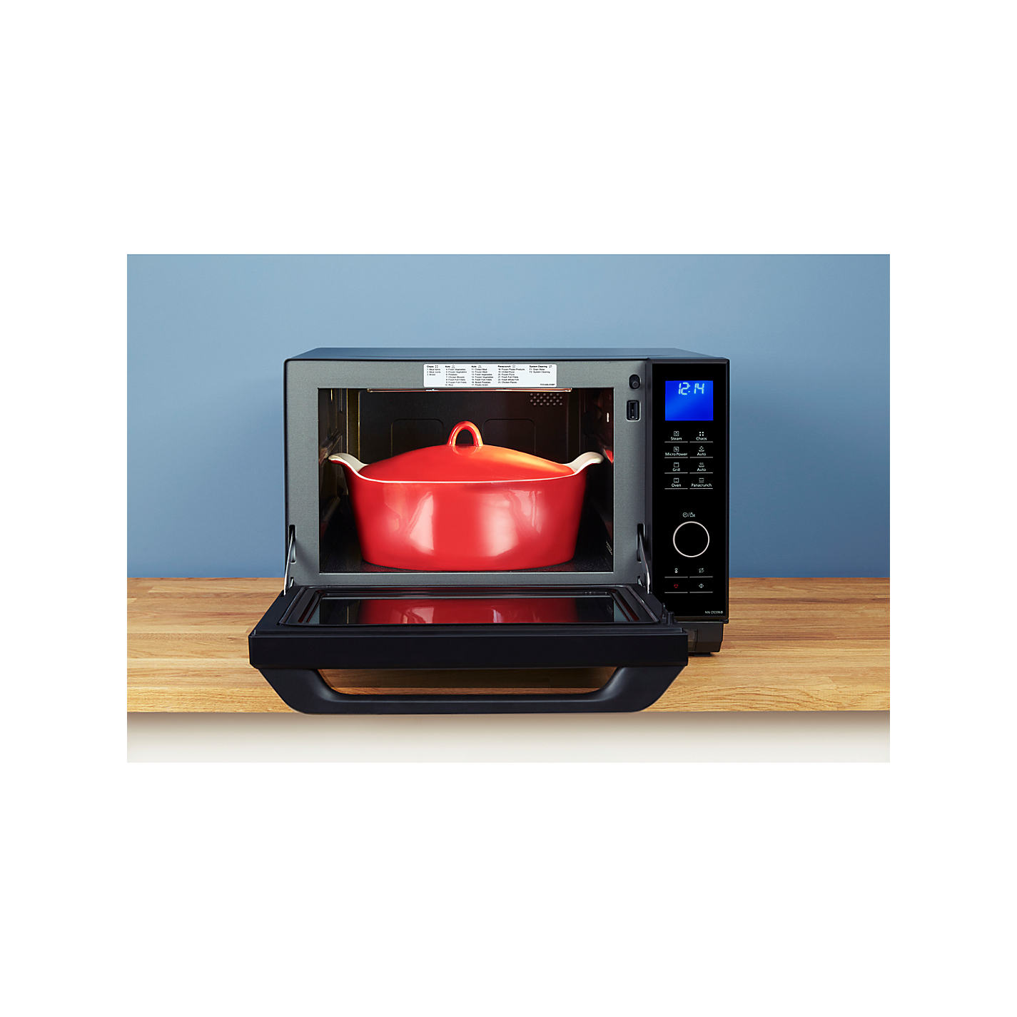 Panasonic Nn Ds596bbp Freestanding 4 In 1 Steam Combination Microwave With Grill